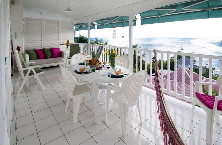 Villa blanche – appartement terrasse