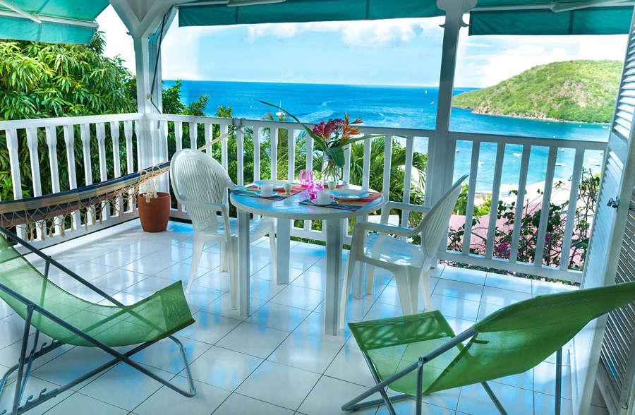 Villa blanche studio terrasse