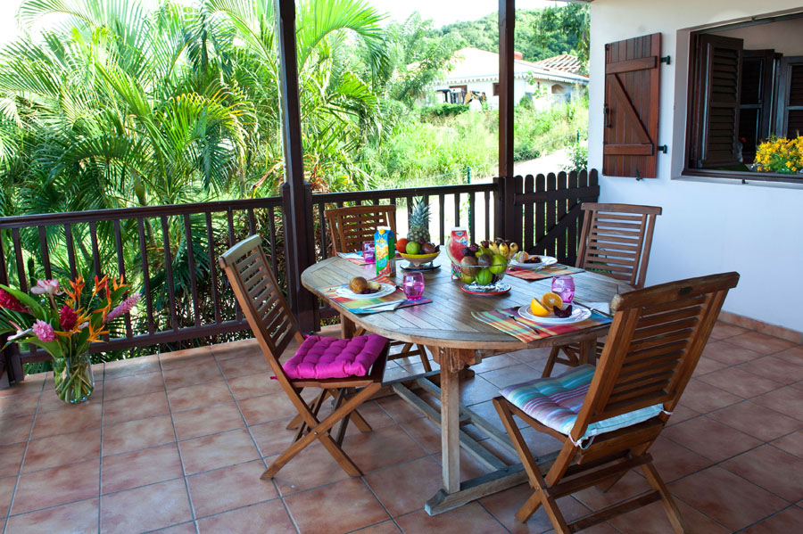 Villa Rose Phoenix appartement en terrasse