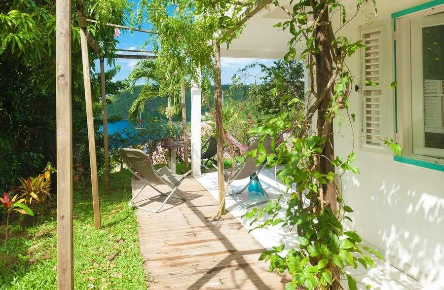 Villa blanche – appartement T2 rez-de-jardin (jusqu'à 3 personnes)