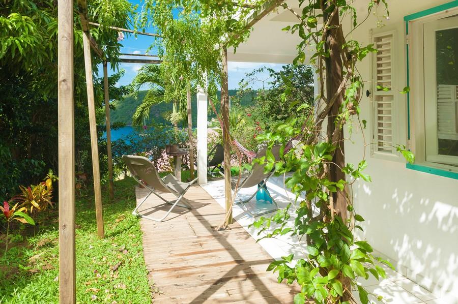 Villa blanche – appartement T2 rez-de-jardin